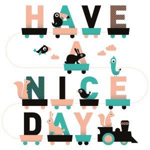 Illustration by Ingrid De Lugt - Have a Nice Day